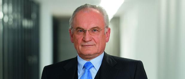 Karlheinz Hornung war fünf Jahre im Vorstand von MAN.