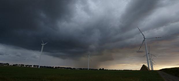 Stürmische Zeiten für Prokon: Der Windkraftfinanzierer musste Insolvenz anmelden.
