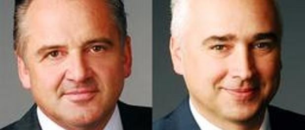 Raimar Bock und Thomas Kaufmann (rechts) verstärken ab Juni das Kapitalmarkt-Team von Steubing.
