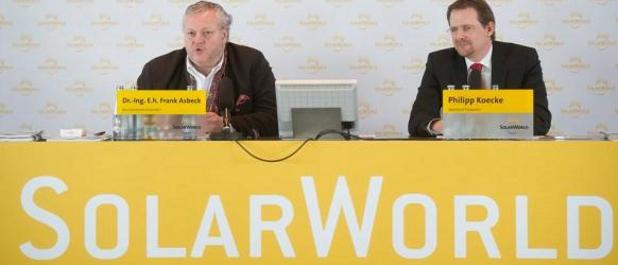 CEO Asbeck und CFO Koecke verbuchen im Überlebenskampf von Solarworld einen Etappensieg.