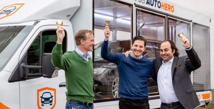 Partystimmung an der Börse: Auto1 feiert seinen IPO.