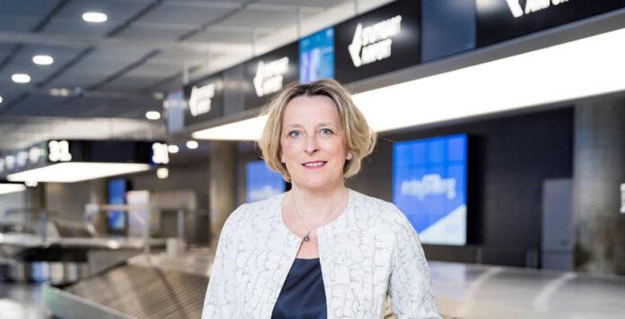 CFO Arina Freitag wechselt vom Stuttgarter Flughafen zum Netzbetreiber Tennet.