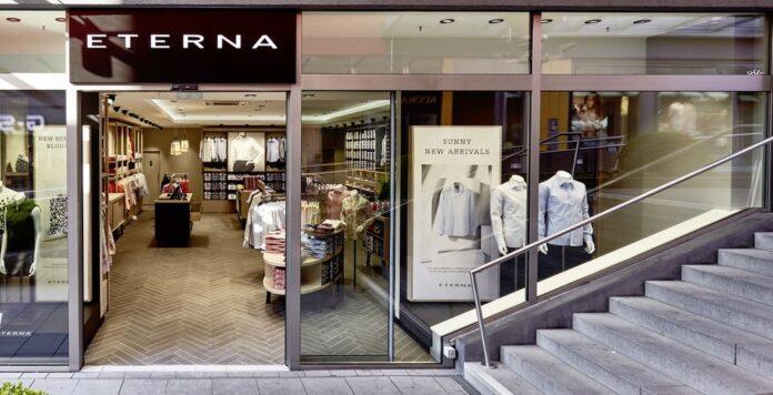 Dem Modeunternehmen Eterna könnte bald das letzte Hemd ausgehen.