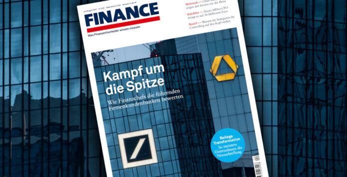 Das FINANCE-Magazin im neuen Gewand - und mit dem aktuellen Ranking der besten Firmenkundenbanken.