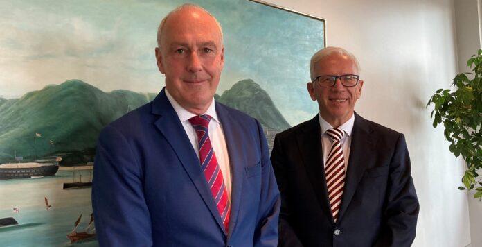Ralf Schwarzhaupt (links) wird bei Jebsen & Jessen neuer CFO.